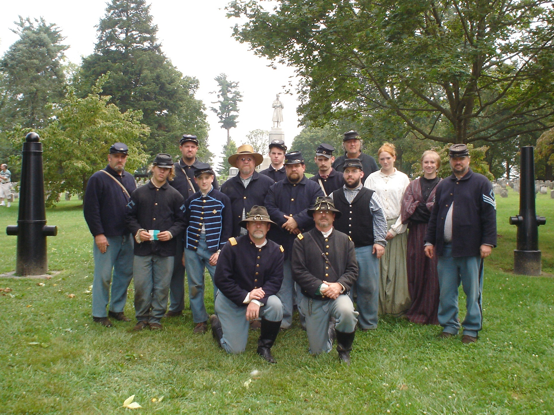 a visit to the Antietam Cemetery