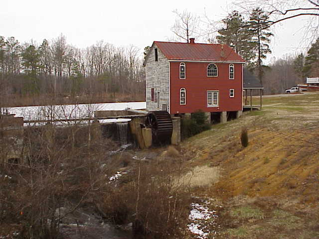 The 69th Pa captured the mill and the pond area