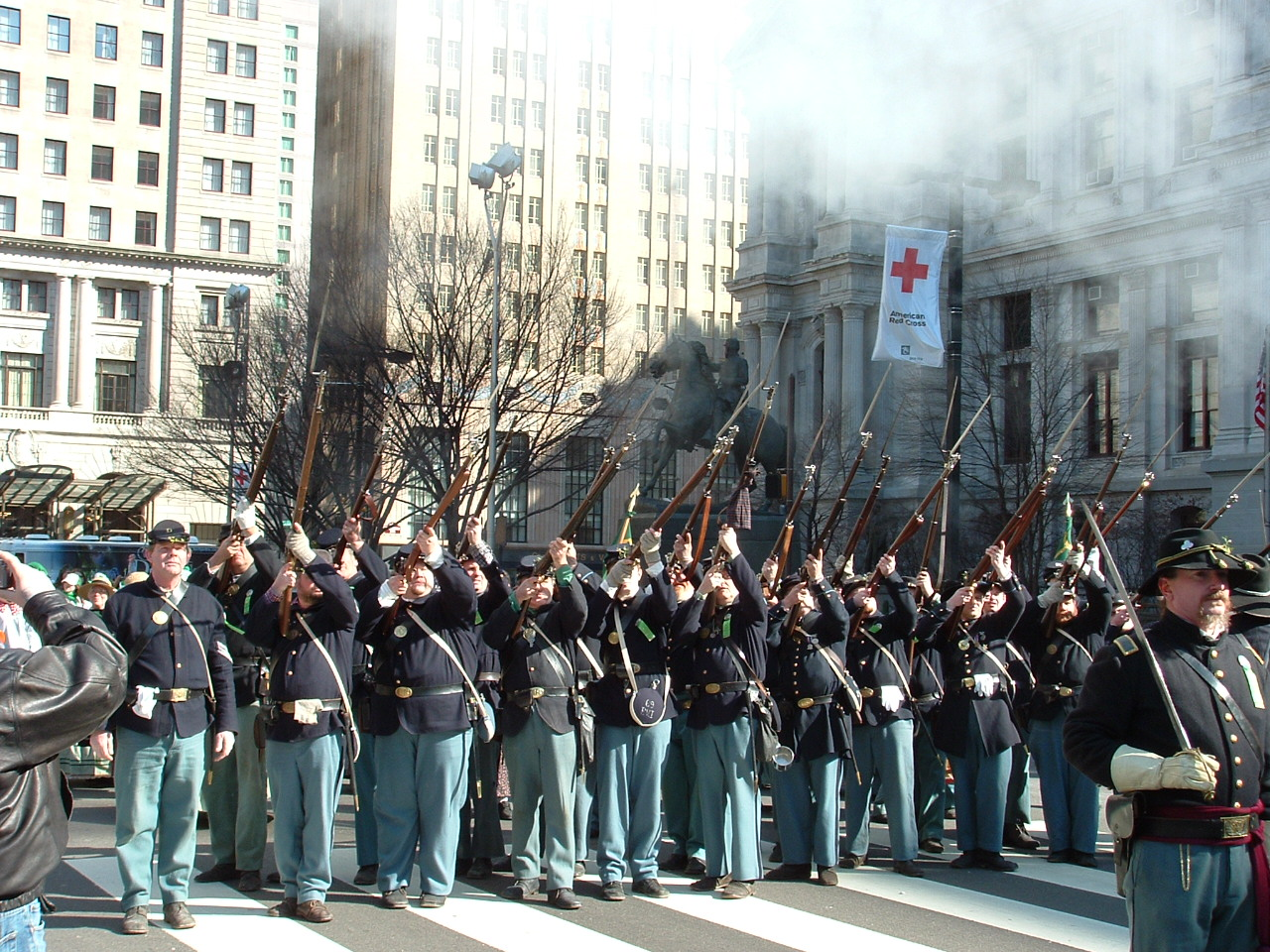 The 69th marches each year on Broad Street