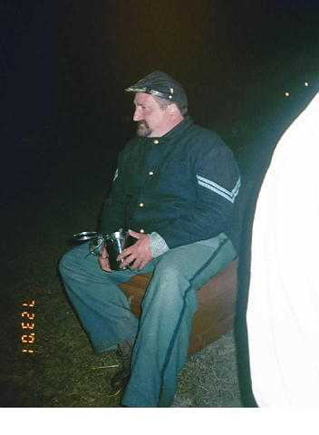 Joe could always be seen around the campfire singing olde irish songs